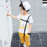 Review Pada Korea Fashion Style Anak Laki Laki Anak Laki Laki Lengan Pendek Musim Panas Kuning