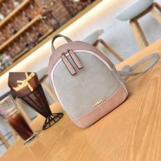 2017 model baru Gaya Korea Mini Warna kombinasi Tas Ransel netral musim panas Tas Punggung Kecil Baur tas wanita casual Tas sekolah kecil pasang