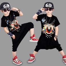 Jual Korea Fashion Style Baru Musim Panas Laki Laki Dan Pakaian Anak Anak Hitam Oem Di Tiongkok
