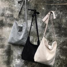 Jual Tas Kanvas Korea Fashion Style Perempuan Tas Ramah Lingkungan Gaya Kampus Kain Korduroi Corduroy Cooljie Hitam Ritsleting Online Di Tiongkok