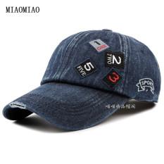 Jual Topi Koboi Laki Laki Topi Baseball Korea Fashion Style Koboi Biru Tua Branded