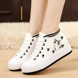 Harga Wanita Sepatu Golden Goose Sepatu Sepatu Kanvas Jejak Kaki Kucing Model Putih Meningkat Dalam Musim Gugur Sepatu Tunggal Yang Murah