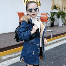 Pakaian Anak-anak Jaket Gaya Korea Kulit Bulu Domba Anak Prempuan Remaja
