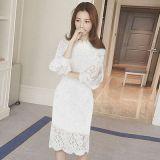 Gaun Renda A Line Lengan Panjang Wanita Slim Fit Gaya Korea Hitam Hitam Other Murah Di Tiongkok