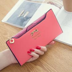 Harga Termurah Dompet Kartu Baru Dompet Korea Fashion Style Gesper Perempuan Semangka Kupu Kupu