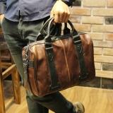 Harga Korea Fashion Style Kulit Kuda Tas Multifungsi Pria Tas Paket Diagonal Parka€™S Warna Di Tiongkok