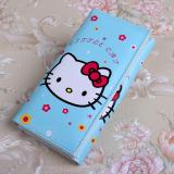 Beli Korea Fashion Style Hello Kitty Animasi Anak Perempuan Tas Lipat Dompet Biru Kt Kepala Tas Tas Wanita Dompet Wanita Cicil