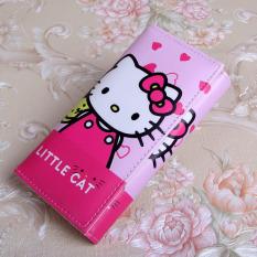 Jual Korea Fashion Style Hello Kitty Animasi Anak Perempuan Tas Lipat Dompet Celemek Kt Tas Tas Wanita Dompet Wanita Other