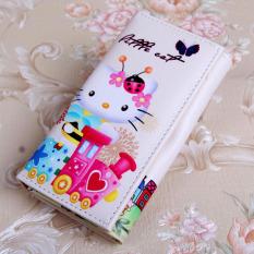 Toko Korea Fashion Style Hello Kitty Animasi Anak Perempuan Tas Lipat Dompet Lebah Kt Dekat Sini