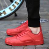 Iklan Korea Fashion Style Hitam Polos Perempuan Renda Ukuran Besar Sepatu Wanita Sepatu Model Wanita Merah Sepatu Wanita Flat Shoes