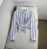 Toko Korea Fashion Style Kain Linen Baru Lengan Panjang Kemeja Gambar Warna Baju Wanita Baju Atasan Kemeja Wanita Blouse Wanita Termurah Tiongkok