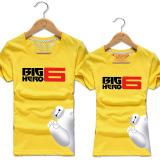 Harga Korea Fashion Style Katun Putih Musim Semi Dan Musim Panas Baju Couple T Shirt Warna Kuning Emas Murah