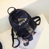 Dapatkan Segera Korea Fashion Style Dicuci Kulit Perjalanan Mini Tas Kecil Tas Ransel Panah Kuku