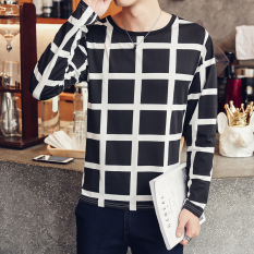 Jual Beli Korea Fashion Style Laki Laki Lengan Pendek Baru Musim Gugur Baju Musim Gugur T Shirt Ct30 Hitam Baru Indonesia