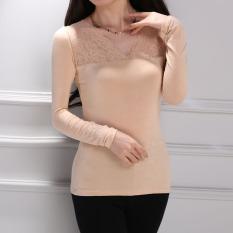 Harga Hemat Korea Fashion Style Modal Elegan V Neck Atasan Bagian Tipis Dari Posisi Terbawahnya Kemeja Beige Baju Wanita Baju Atasan Kemeja Wanita