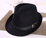 Toko Korea Fashion Style Ms Musim Gugur Jazz Topi Topi Kecil Bagian Sabuk Hitam Oem Tiongkok