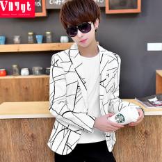 Anak muda musim gugur dan dingin Gaya Korea Setelan formal jas kasual pria