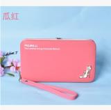 Jual Baellerry Tas Genggam Wanita Aneka Warna Model Panjang Sederhana Dan Elegan Semangka Merah Murah Di Tiongkok