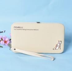 Beli Korea Fashion Style Multifungsi Dompet Dompet Mahasiswa Tas Wanita Wallet Off White Terbaru