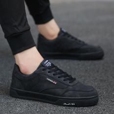 Promo Korea Fashion Style Musim Gugur Baru Laki Laki Sepatu Hitam Sepatu Pria Sepatu Kulit Sepatu Kerja Sepatu Formal Pria Oem