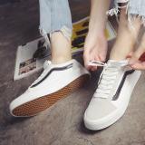 Jual Beli Online Korea Fashion Style Musim Gugur Baru Laki Laki Sepatu Putih Dan Hitam Sepatu Pria Sepatu Sneakers Sepatu Sport Sepatu Casual Pria