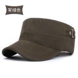 Harga Korea Fashion Style Pria Dan Musim Gugur Topi Topi Datar Topi Army Topi Tentara Hijau Terbaik