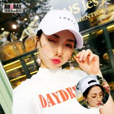 Topi Bisbol Gaya Korea Bordir Topi Lidah Bebek All-match Modis Pria dan Wanita