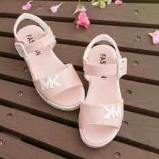 Sandal Musim Panas Gadis Sepatu Putri Korea Modis Gaya Musim Panas Datar ( Merah Muda Warna) · other Sepatu Anak Perempuan ...