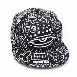 Beli Korea Fashion Style Musim Panas Grafiti Tabir Surya Matahari Topi Topi Topi Promosi Besar Kerugian 562 Hitam X186 Oem Asli