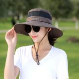 Diskon Topi Luar Rumah Pelindung Terik Matahari Topi Nelayan Korea Fashion Style Musim Panas Setengah Net Parka€™S Oem