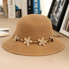 Harga Korea Fashion Style Musim Panas Shishang Matahari Topi Jerami Topi Parka€™S Tiongkok