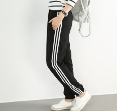 Promo Korea Fashion Style Musim Panas Siswa Longgar Olahraga Celana Tiga Tongkat Lurus Berkualitas Tinggi Versi Di Tiongkok