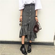 Ongkos Kirim Korea Fashion Style Musim Semi Baru Perempuan Panjang Rok Rok Setengah Badan Di Tiongkok