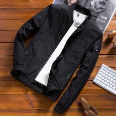 Toko Korea Fashion Style Pria Musim Semi Dan Musim Gugur Slim Jaket Jaket Pria Sebuah Model Warna Hitam Oem Tiongkok