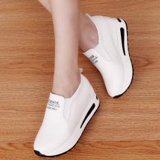 Korea Fashion Style Musim Semi Dan Musim Gugur Sol Tebal Sepatu Golden Goose Sepatu Sekolah (Putih) Sepatu wanita Flat shoes