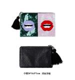 Harga Korea Fashion Style Berpayet Tas Tangan Vermilion Tas Tangan Payet Kecil Dan Spesifikasinya