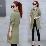 Promo Mantel Tipis Korea Fashion Style Mantel Wanita Slim Hijau A