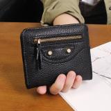 Review Korea Fashion Style Perempuan Bagian Tipis Siswa Dompet Wanita Wanita Kecil Wallet Hitam Tas Tas Wanita Dompet Wanita Terbaru