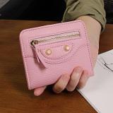 Toko Korea Fashion Style Perempuan Bagian Tipis Siswa Dompet Wanita Wanita Kecil Wallet Merah Muda Tas Tas Wanita Dompet Wanita Tiongkok
