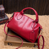 Toko Korea Fashion Style Perempuan Baru Selempang Miring Tas Besar Tas Anggur Merah Barang Favorit Untuk Mengirim Clutch Tas Terlengkap Tiongkok