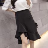 Review Toko Korea Fashion Style Perempuan Musim Gugur Baru Tas Rok Gaun Malam Mermaid Hitam Baju Wanita Rok Online