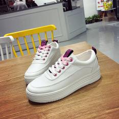 Korea Modis Gaya Perempuan Musim Semi Baru Sepatu Wanita Dia Kets Putih (Merah Muda)