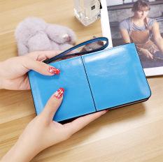 Spesifikasi Korea Fashion Style Perempuan Paket Telepon Dompet Langit Biru Tas Tas Wanita Dompet Wanita Dan Harga