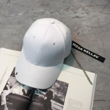 Jual Beli Online Korea Fashion Style Pita Topi Huruf Topi Baseball Liontin Putih