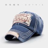 Spesifikasi Korea Fashion Style Pria Dan Musim Gugur Topi Baseball Topi Biru Dan Harga