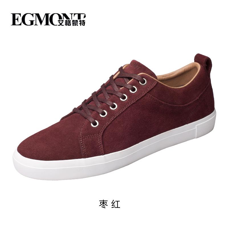 Beli sekarang Sepatu sneaker pria 2016 pasang Gaya Korea netral Pria sepatu  kulit kasual tali sepatu rendah sepatu olahraga Inggris sepatu pria Kulit  asli ... 4b14a951ff