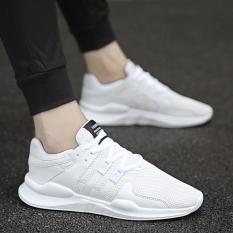 Beli Sepatu Mesh Musim Panas Sepatu Travel Korea Fashion Style Bernapas Putih Online Tiongkok