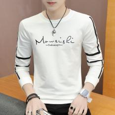... Style Pemuda Slim Kemeja Pria Lengan Pendek Kemeja 326 Source · Korea Modis Gaya Remaja Ramping Lindung Nilai Lengan Panjang Baju Dalaman Kaos Putih