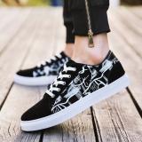 Cuci Gudang Korea Fashion Style Sehari Hari Modis Sepatu Sekolah Musim Panas Kanvas Sepatu K506 Hitam Dan Putih Sepatu Pria Sepatu Kulit Sepatu Kerja Sepatu Formal Pria
