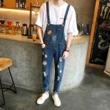 Review Jumper Denim Slim Fit Pria Berlubang Gaya Korea Gambar Warna Gambar Warna Oem